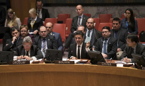 Bolivia aboga en la ONU por la paz entre palestinos e israelíes