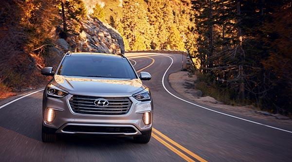 Hyundai presenta un Santa Fe 2017 más seguro