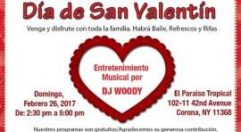 Centro Cultural Latinoamericano de Queens celebra fiesta de San Valentín este domingo 26 de febrero