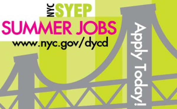 NYC Opens Early Application Process for City's Summer Youth Employment Program (SYEP)