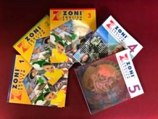 Los libros para aprender inglés de ZONI Language.