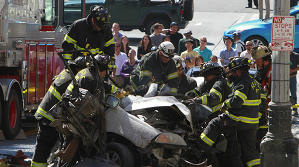 Accidente en Times Square deja una muerta y más de 20 heridos