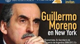 Guillermo Moreno habla sobre situación de Argentina este 30 de mayo en Manhattan
