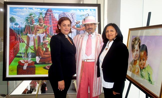 Desfile de la Hispanidad comienza con exhibición de arte sus actividades del 2017