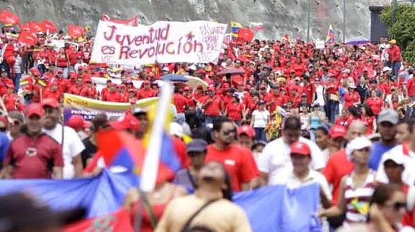Marcha por la Revolución Bolivariana