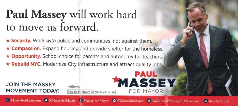 Paul Massey flyer