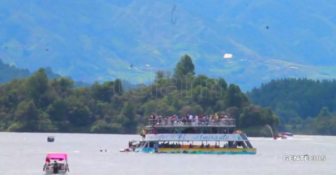 6 muertos por naufragio en Colombia
