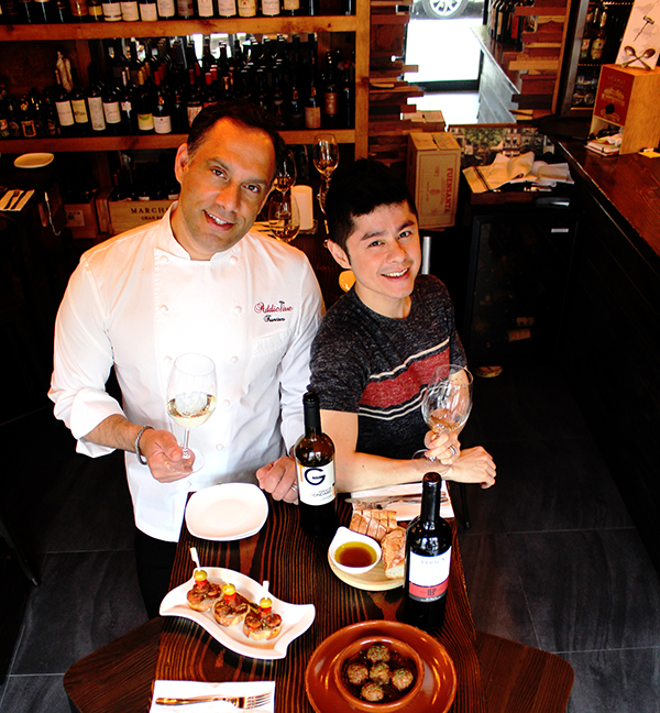 Sabor de España: Francisco Díaz y Patrick Duong de Addictive Wine & Tapas Bar