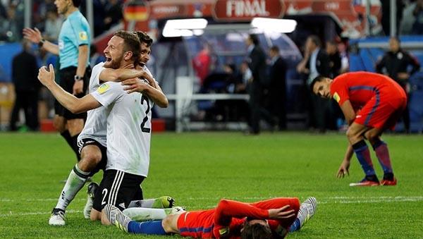 Alemania campeó de la Confederaciones y México al cuarto puesto sin medalla y sin buen juego