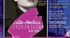Latin American Fashion Show el 8 de septiembre y 'casting' el sábado 12 de agosto