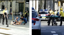 Terrorismo Islámico 'Express' en Barcelona deja muertos y heridos