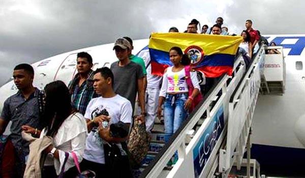 Colombianos en Cuba a estudiar medicina