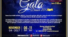 MIRA USA con cena de gala el 4 de noviembre en el Sheraton de Queens