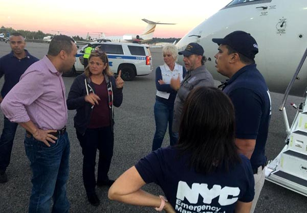 Mayor de Blasio and Hispanic Federation Helping Puerto Rico (qué se necesita !!!!)