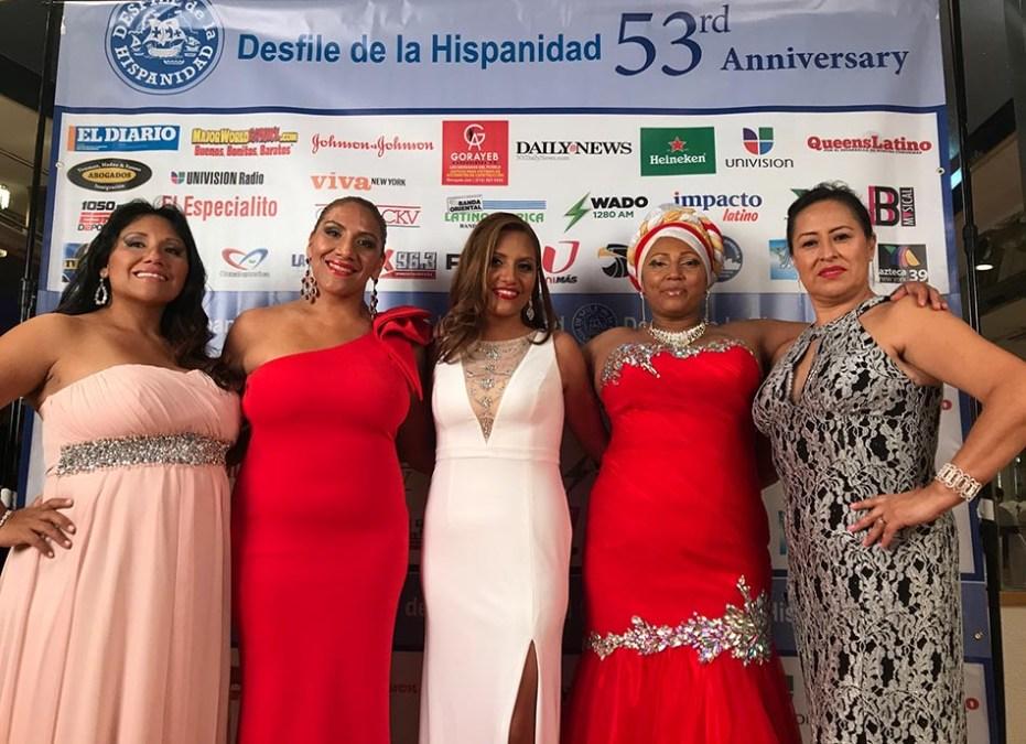 Gala del Desfile de la Hispanidad por la unificación