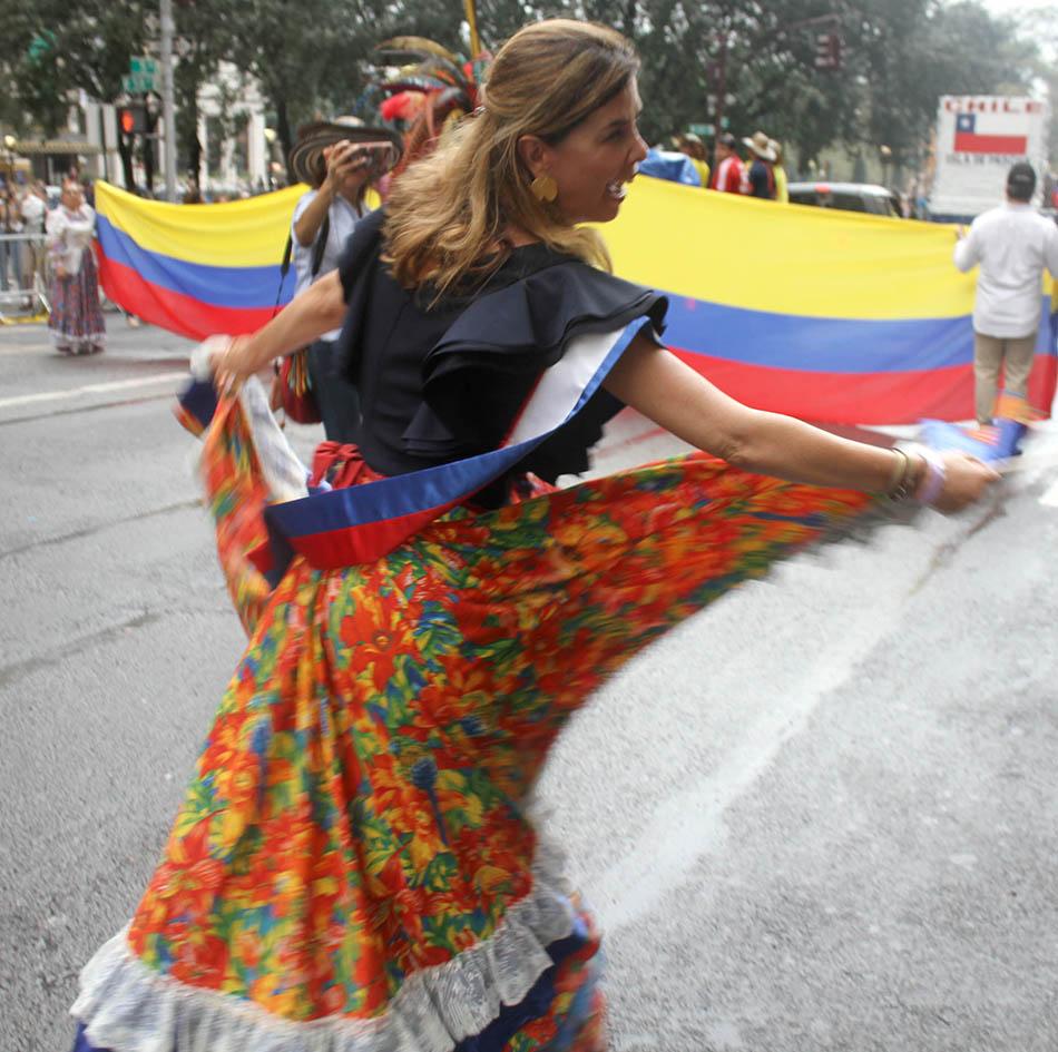María Isabel Rueda, cónsul general de Colombia en Nueva York. Foto Humberto Arellano