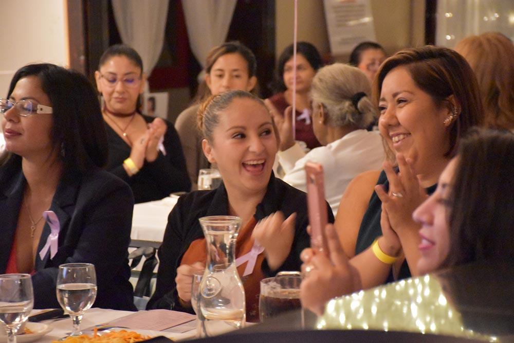 Las mujeres compartieron una noche de activismo y empoderamiento.