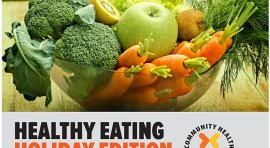 Learn Healthy Eating for Holidays at Woodside Public Library this November 3