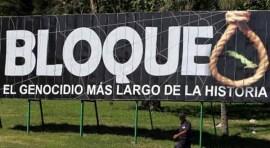 Contra el embargo a Cuba