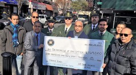Senator Peralta and Sanitation Department Announce the Installation of 170 New Garbage Baskets for Roosevelt Avenue