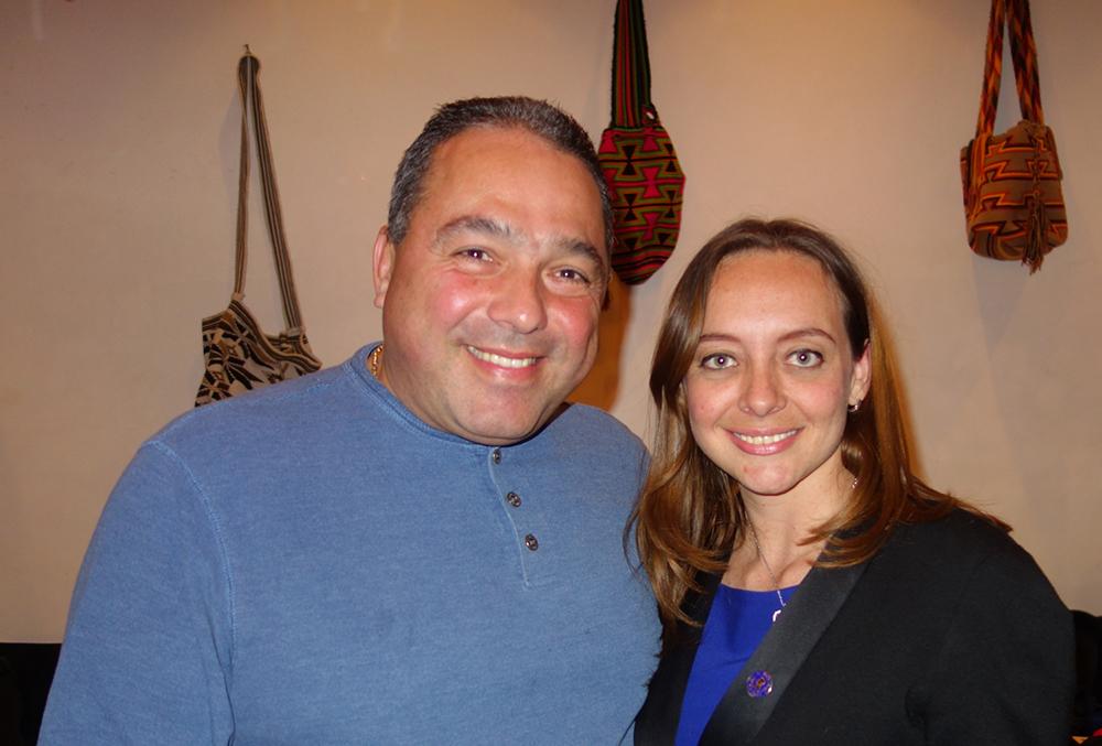 Eduardo Giraldo y Ana María Paola.