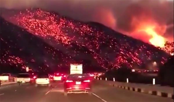 Más de 200,000 evacuados en California por incendios