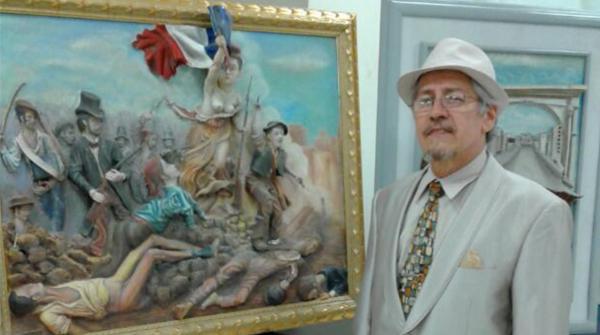 Alfonso Beckert: pintor, escritor, poeta y repartidor de volantes