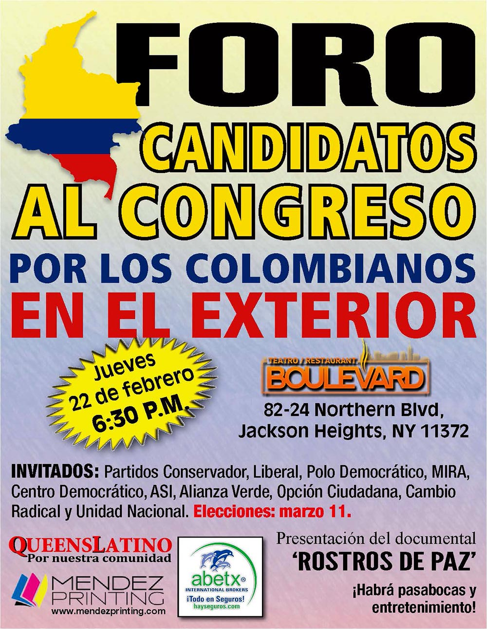 FORO CANDIDATOS Colombia