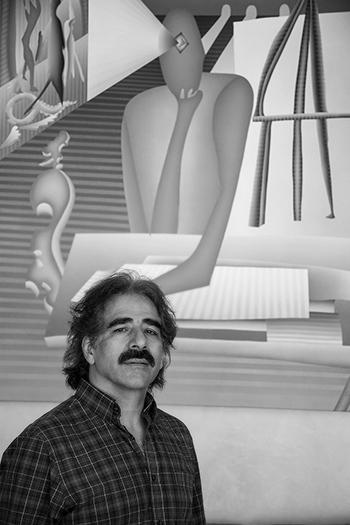 Gustavo Rojas, pintor.