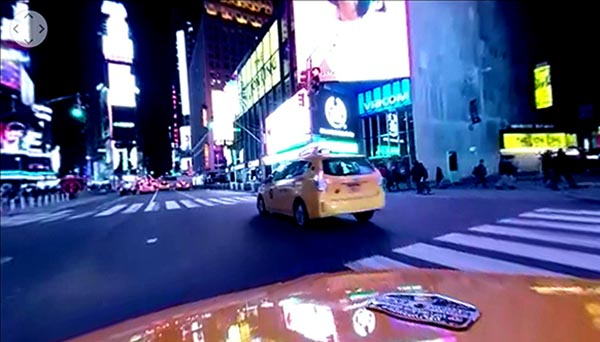 360 Video Approach to Crisis Within Taxi Industry in NYC