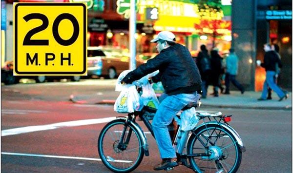 Nueva York reglamenta el uso de bicicletas eléctricas
