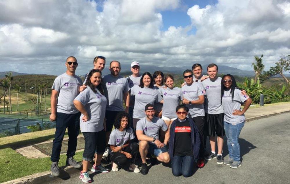 El grupo de la Diócesis Católica de Brooklyn y Queens en la isla de Puerto Rico.