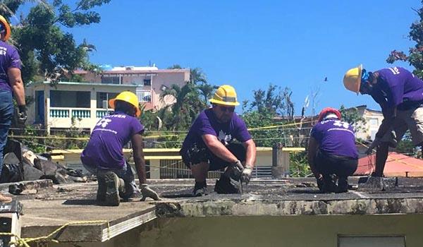 Diócesis Católica Brooklyn/Queens reconstruye Puerto Rico