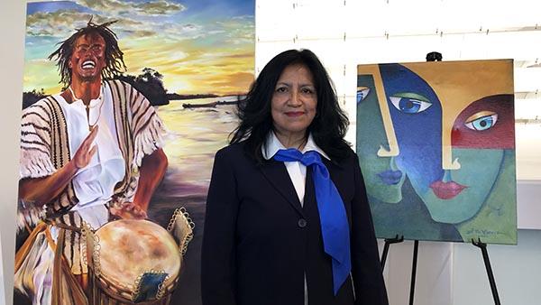 Desfile de la Hispanidad exhibe pinturas en Queens Museum