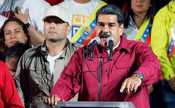 Nicolas Maduro reelecto presidente de Venezuela
