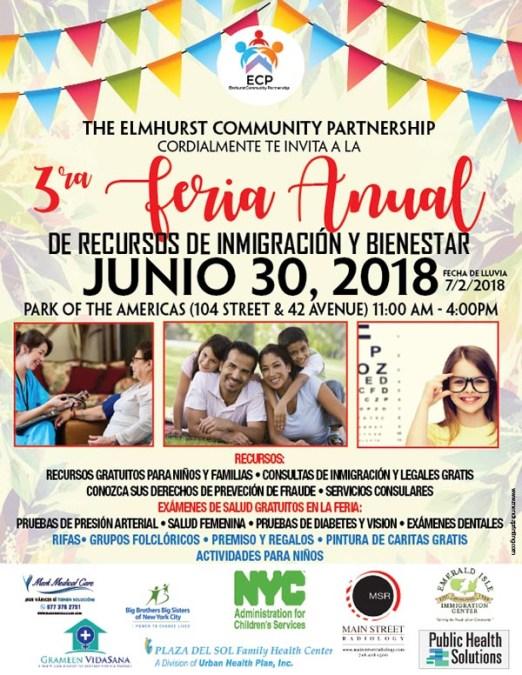 Feria familiar de recursos el sábado 30 de junio en Corona