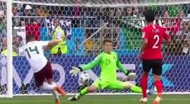 México gana a Corea del Sur 2-1 en Copa Mundo 2018
