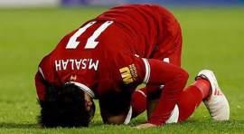 Mohamed Salah de Egipto hace goles por Alá
