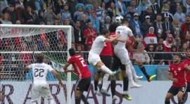 Uruguay vence a Egipto en Copa Mundo 2018 en Rusia
