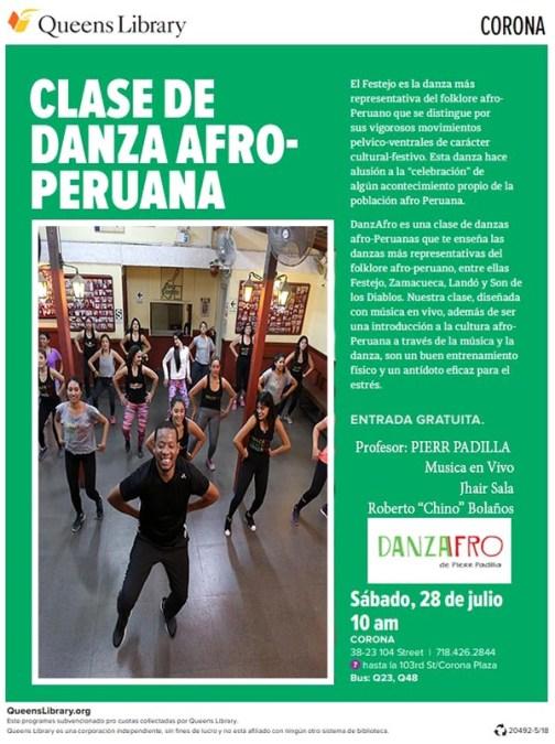 Celebre la Independencia de Perú con música afro este sábado