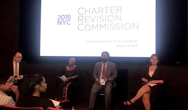 NYC Charter Commission por la participación y el voto