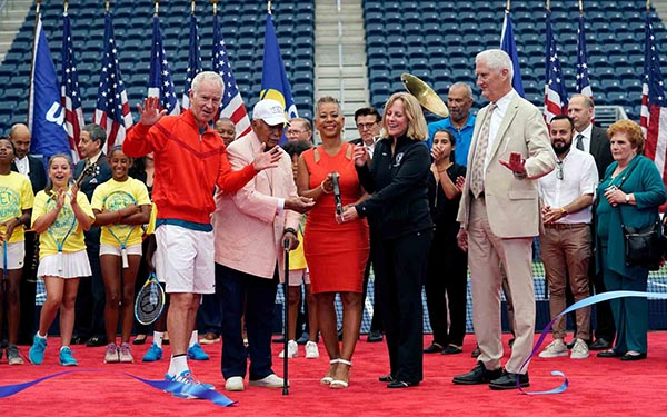 The New Louis Armstrong Stadium Dedication at US Open
