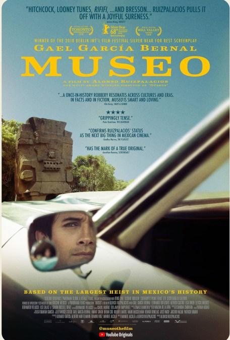 Película Museo en Nueva York con Gael García Bernal