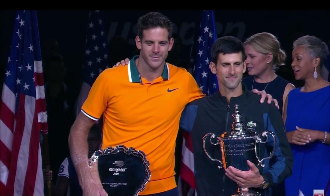 Del Potro pierde ante Djokovic en US Open de tenis