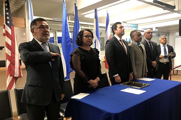 Independencia de Centroamérica en Consulado de Honduras