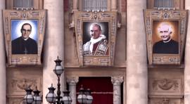 El Papa declara santos a Paulo VI y arzobispo Arnulfo Romero