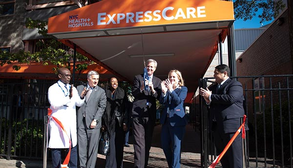 NYC Opens ExpressCare Centers to Offer Faster Health Service