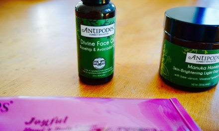 Revitalising My Skin with Antipodes