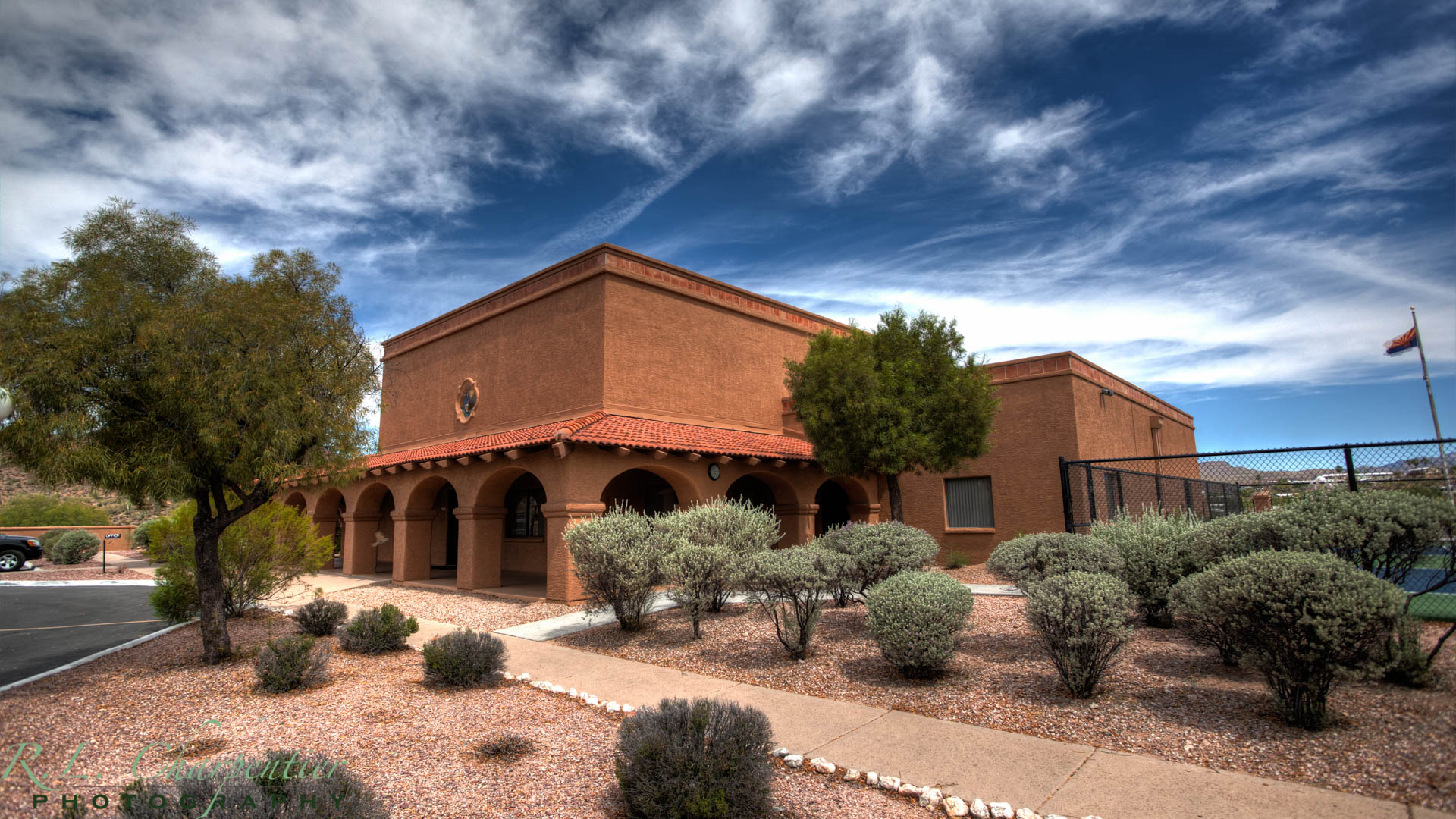 Clubhouse, Queen Valley RV Resort, Arizona