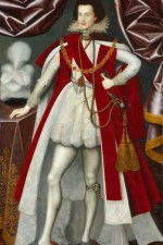 NPG 3840,George Villiers, 1st Duke of Buckingham,attributed to William Larkin